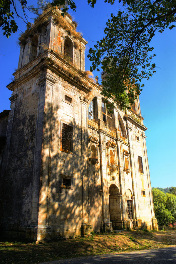 Download Ruined convent of Seica stock image. Image of historical - 87531273