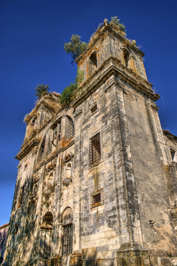 Download Ruined convent of Seica stock image. Image of monastery - 87531299