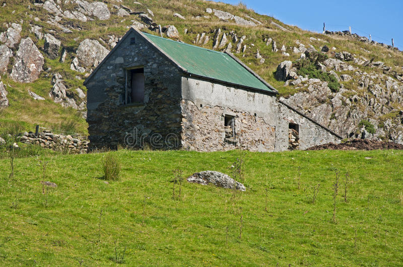 Download Ruined Farmhouse stock image. Image of abandoned, desolate - 20830991