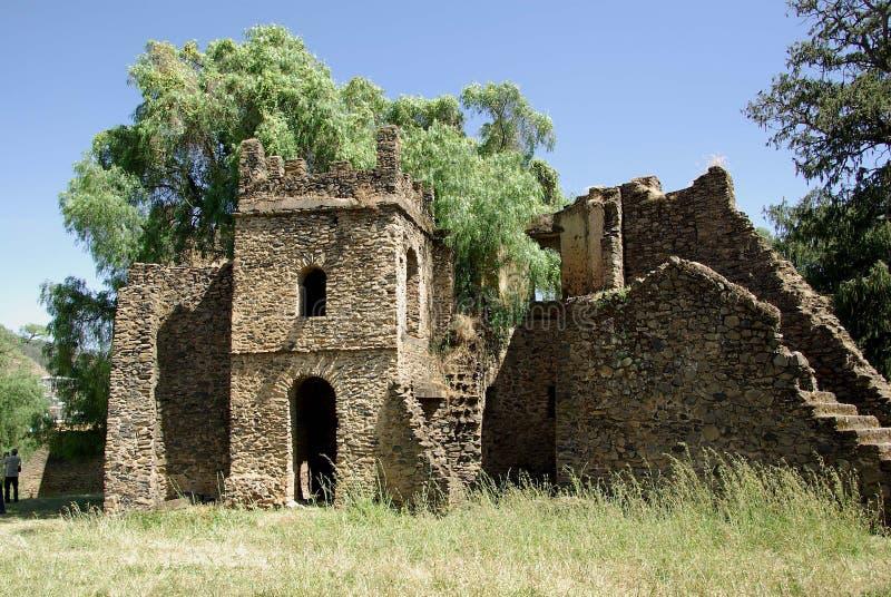 Ruinen in Äthiopien stockfotografie