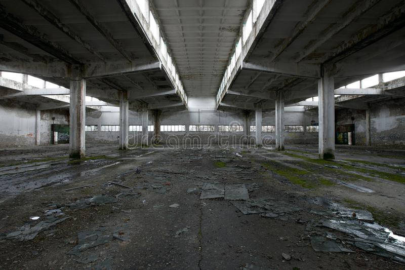 Ruinen stockbild
