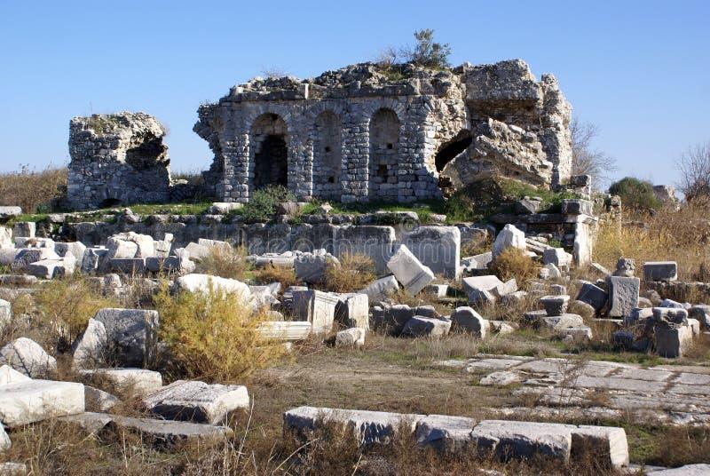 Download Ruinen stockfoto. Bild von historisch, römisch, türkisch - 9098664