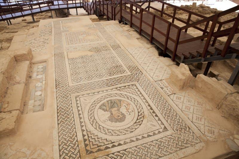 Ruinen bei Kourion, Zypern stockfotos