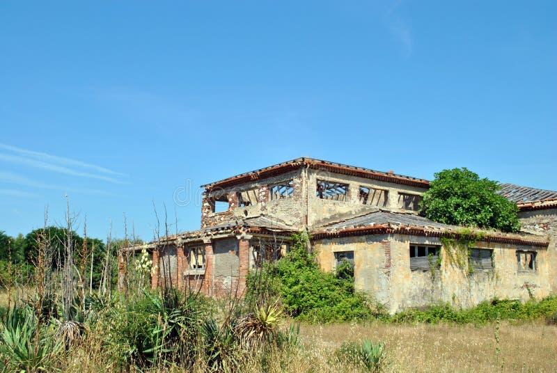 Ruinen in Calambrone lizenzfreie stockfotos