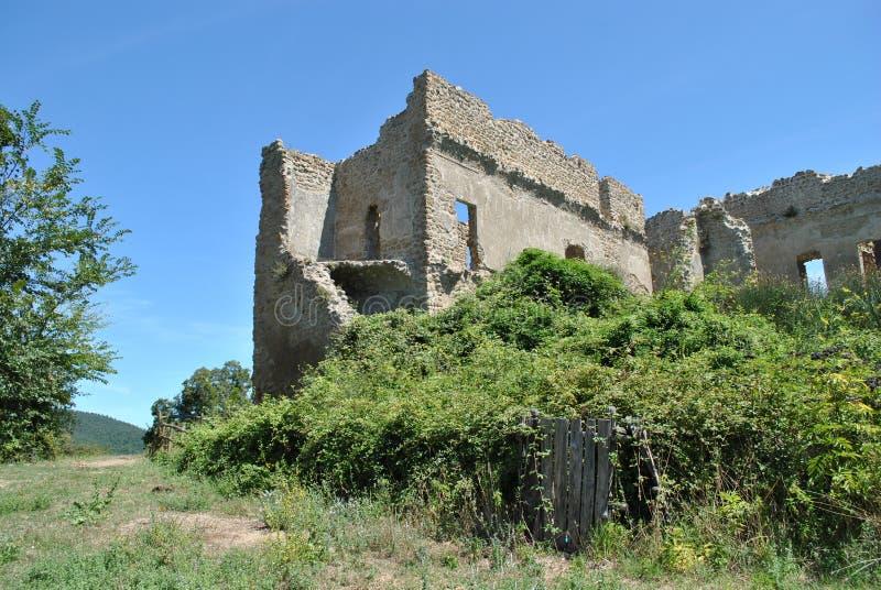 Ruinen in Canale Monterano stockfoto