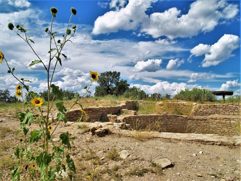 Ruinen in der Anasazi-Erbmitte stockfotos