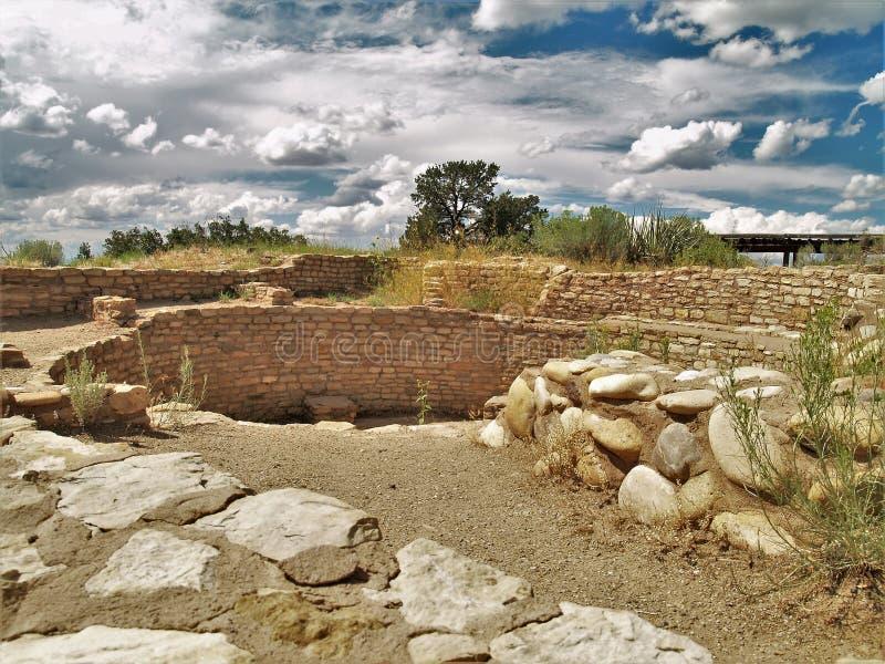 Ruinen in der Anasazi-Erbmitte lizenzfreies stockfoto