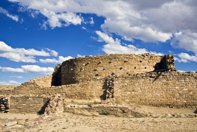 Ruinen in der Chaco Kultur lizenzfreies stockbild