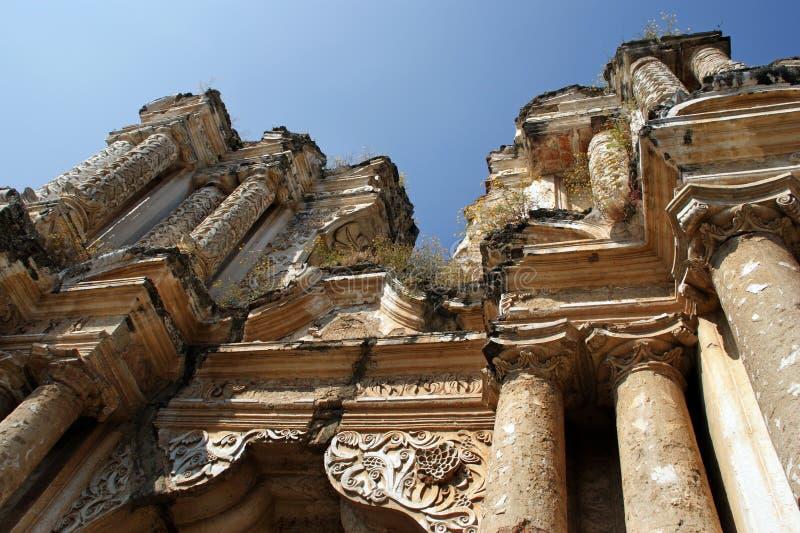Ruinen der Kirche Iglesiade El Carmen stockfoto