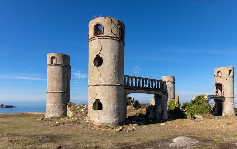 Ruinen des Heilig-Pol-Mehlschwitze-Landsitzes stockbilder