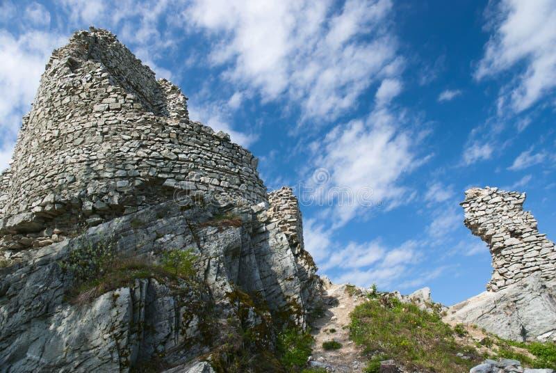 Schloss Gymes, Slowakei lizenzfreies stockbild
