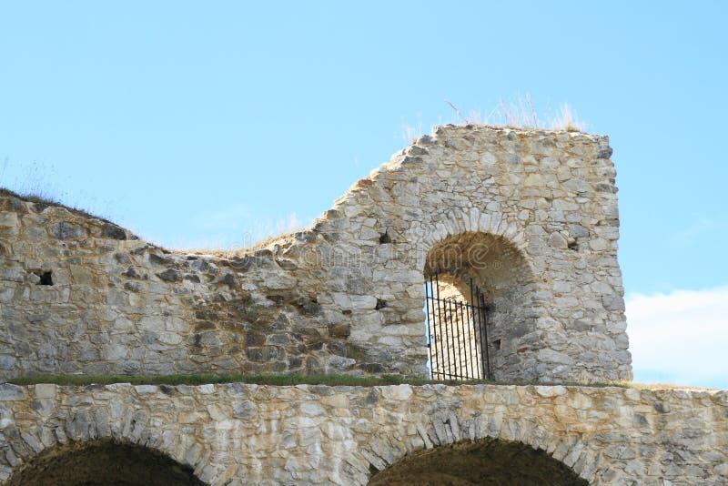 Ruinen des Schlosses Rabi stockfotografie