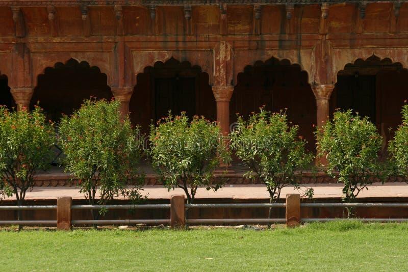 Ruinen eines alten indischen Tempels lizenzfreie stockfotos