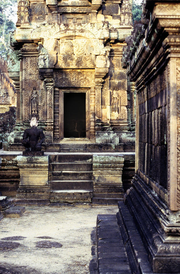 Ruinen Kambodscha lizenzfreie stockfotos
