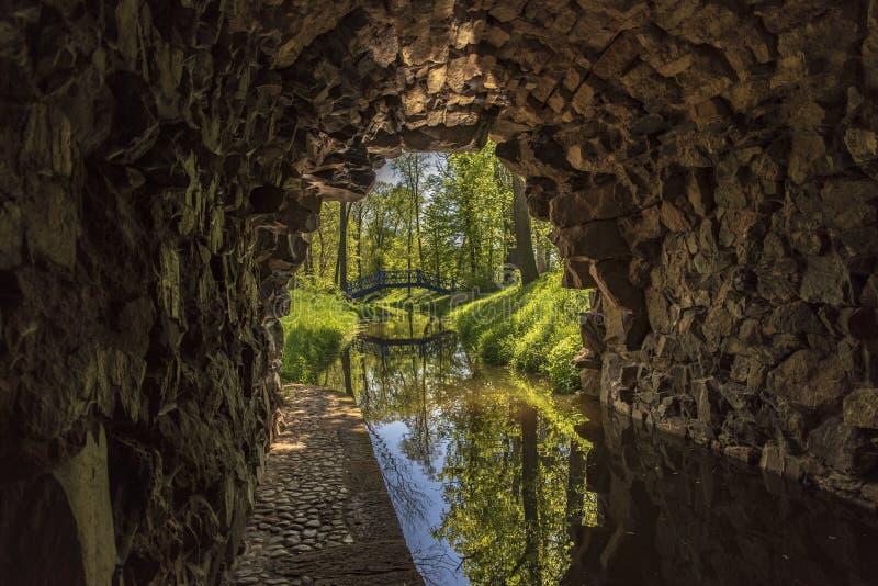 Ruinen Tschechischer Republik ?gyptischer Pavillon Vsestudy lizenzfreies stockbild