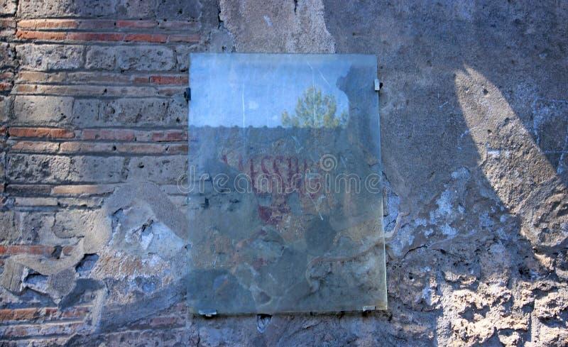 Download Ruinen von altem Pompeji stockfoto. Bild von europäisch - 96932036