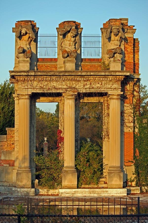 Ruinen von Indianapolis lizenzfreies stockfoto
