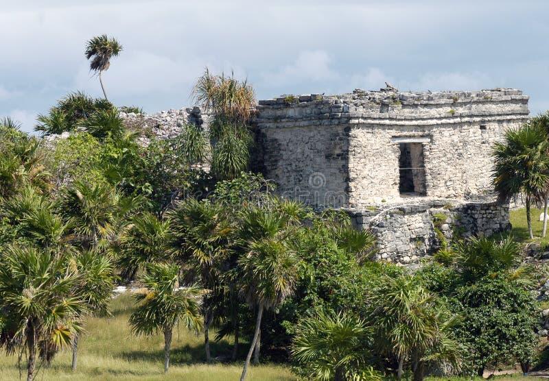 Ruinen von Tulum lizenzfreies stockbild