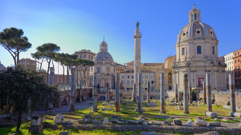 Ruines à Rome antique, Italie photos libres de droits