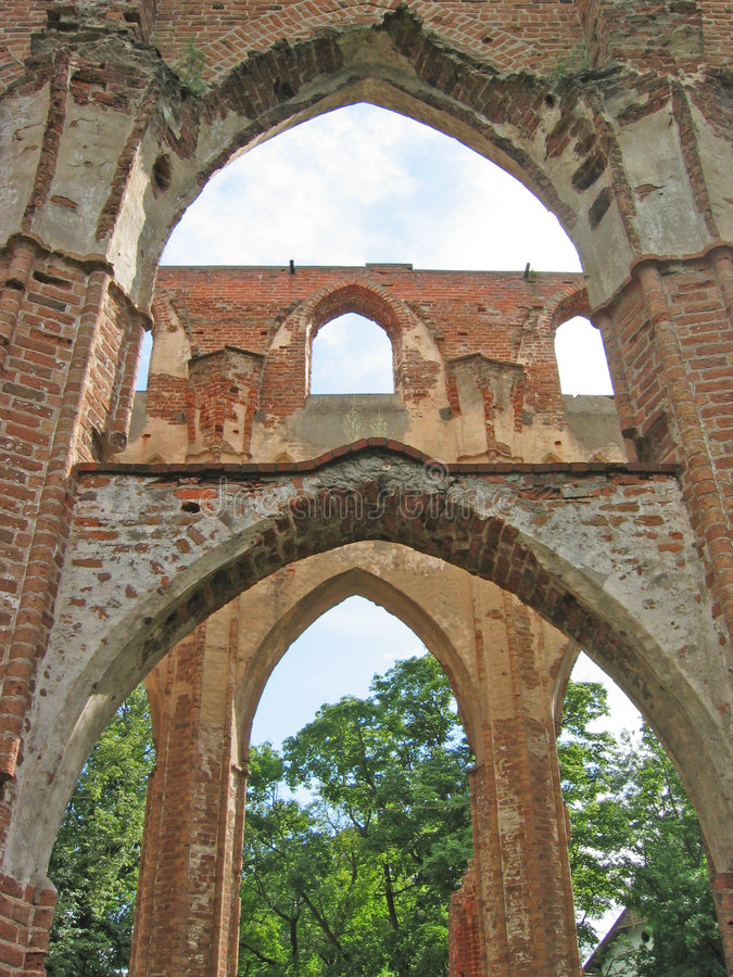 Ruines images stock