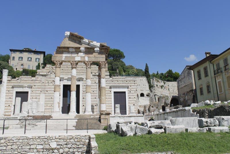 Download Ruines photo stock. Image du histoire, vestibule, europe - 77163074