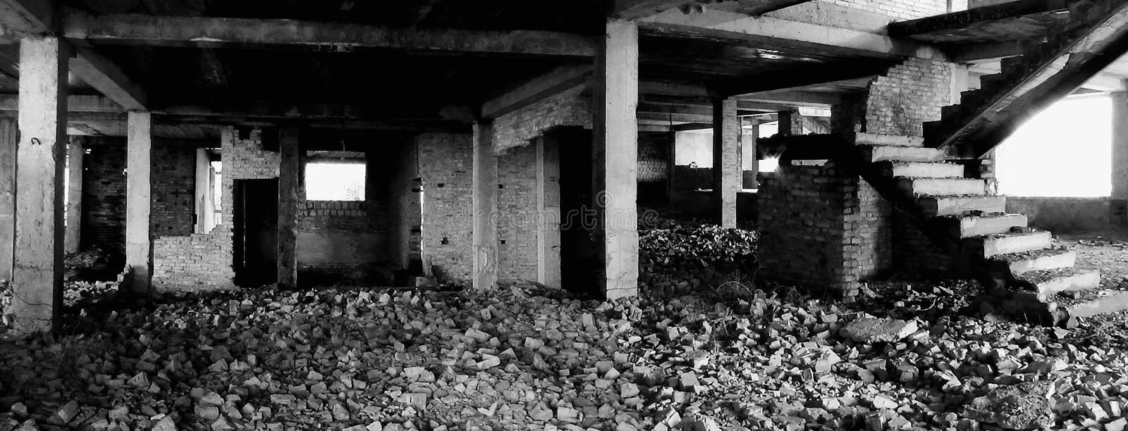 ruines photographie stock