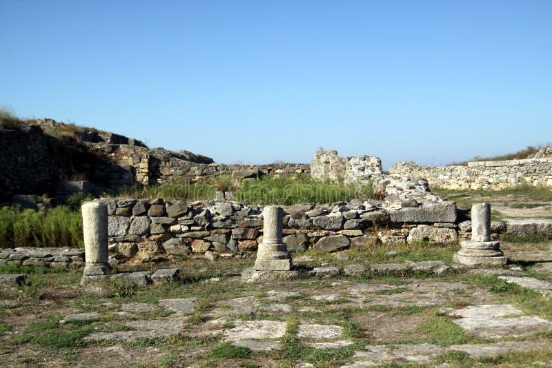 Ruines antiques photo stock