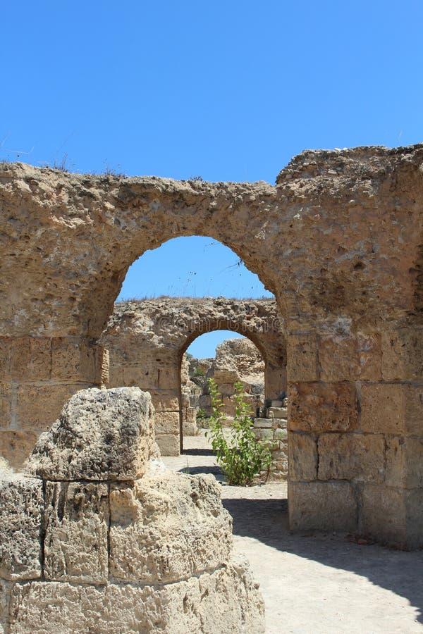 Ruines antiques photographie stock