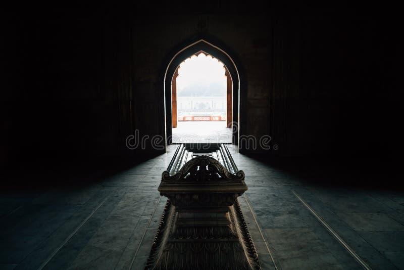 Ruines antiques de tombe de Safdarjung à Delhi, Inde photographie stock libre de droits
