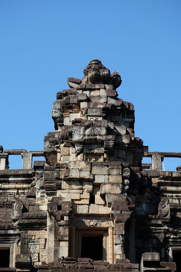 Ruines antiques en Asie du Sud-Est Construction en pierre antique de l'empire de Khmer Monuments des civilisations antiques photos libres de droits