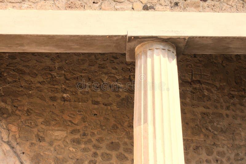 Ruines antiques ? Pompeii, Italie image stock