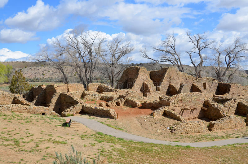 Ruines aztèques photo libre de droits