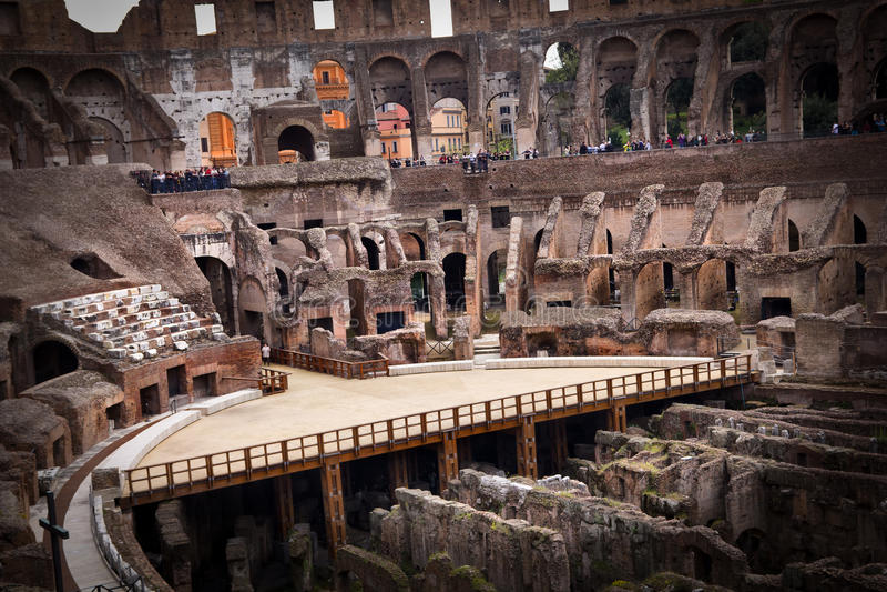 Ruines célèbres images libres de droits