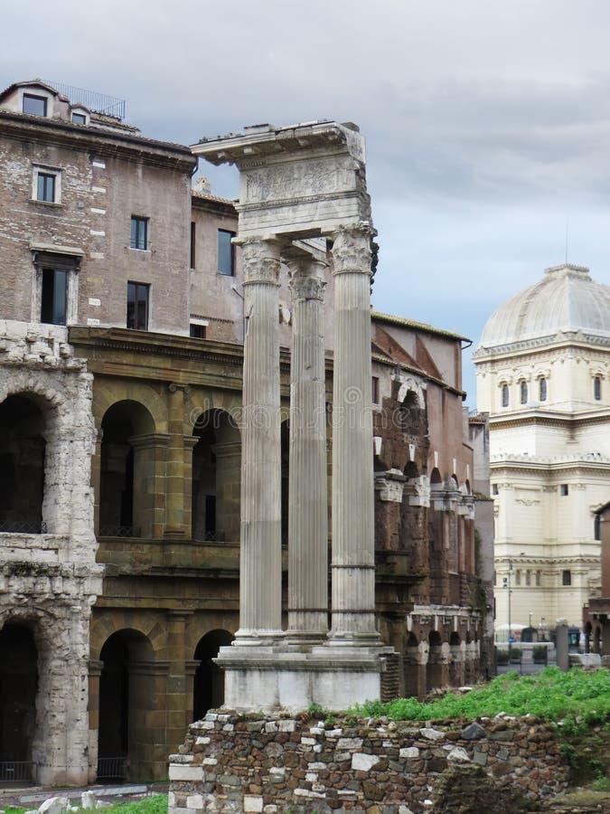 Ruines d'Apollo Temple images libres de droits