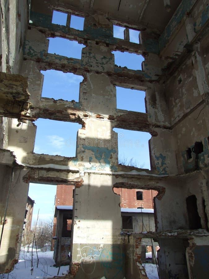 Ruines d'Assan Mill photographie stock libre de droits