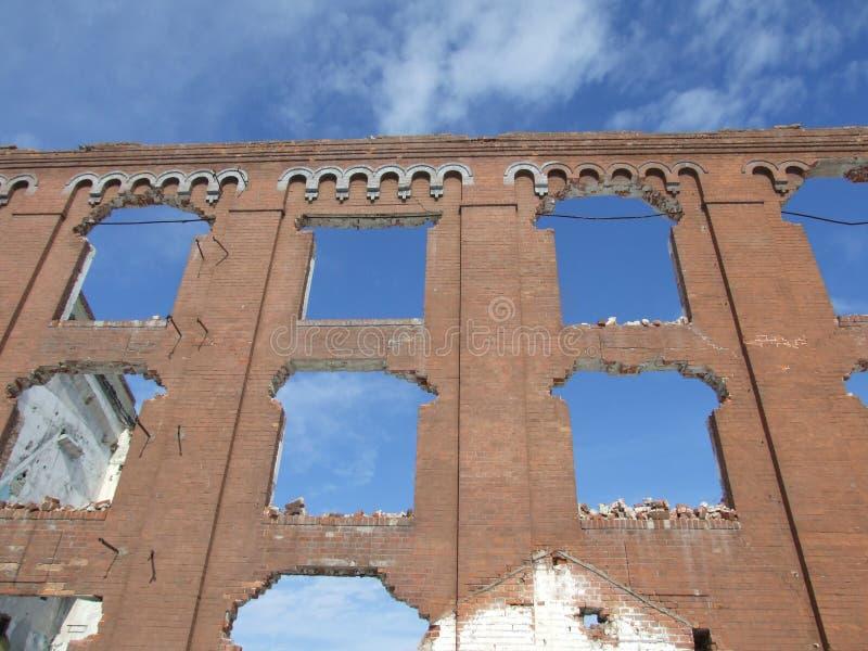 Ruines d'Assan Mill images libres de droits
