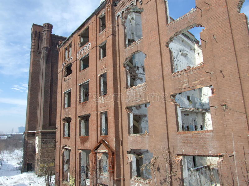 Ruines d'Assan Mill images stock