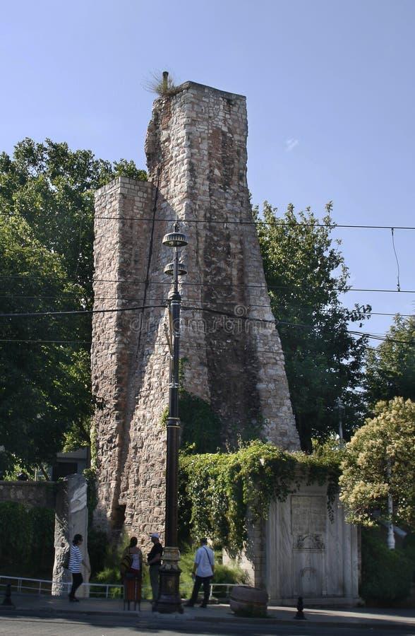 Ruines d'hippodrome, Istanbul photographie stock libre de droits