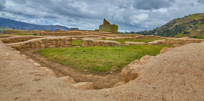 Ruines d'Ingapirca photos libres de droits