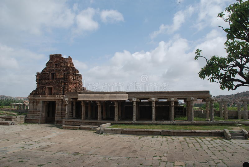 Ruines d'un temple photos libres de droits