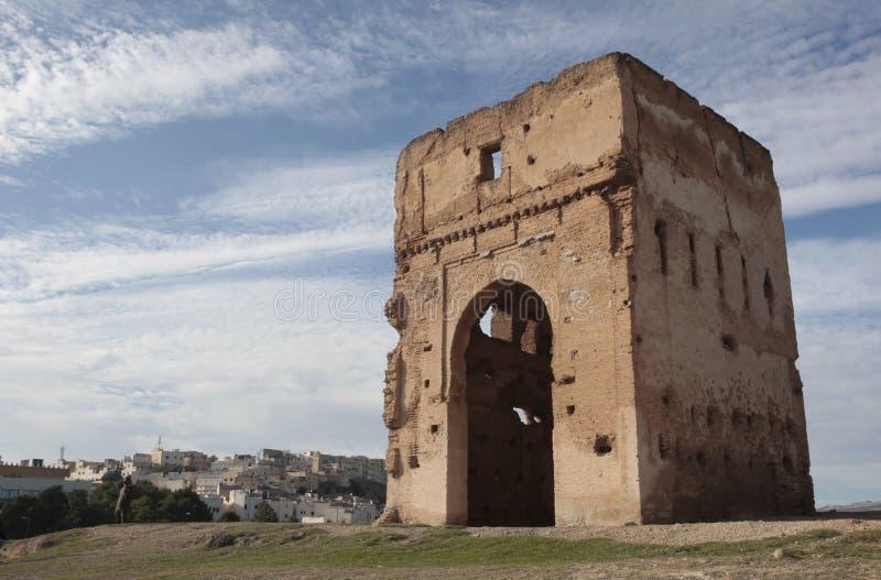 Ruines dans Fes, Maroc photo stock