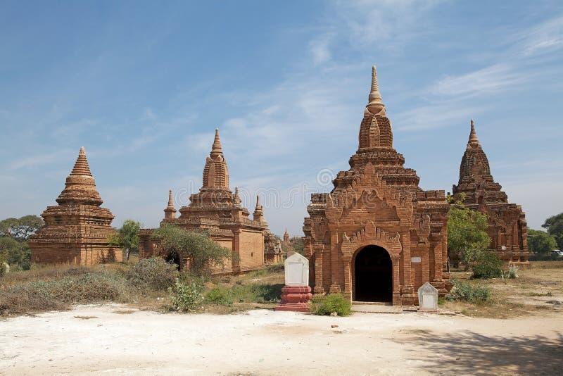 Ruines de Bagan, Myanmar images stock
