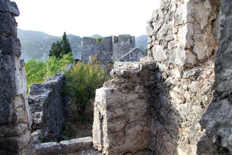 Ruines de Besac photos stock