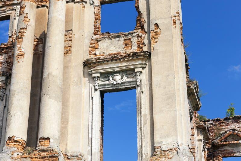 Ruines de brique images stock