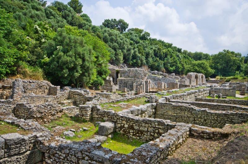 Ruines de Butrint, Albanie photos libres de droits