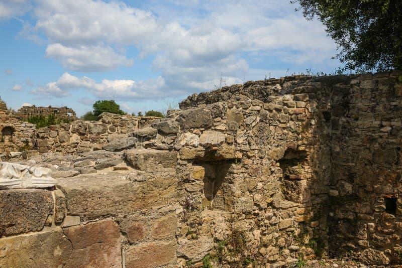 Ruines de côté photos libres de droits