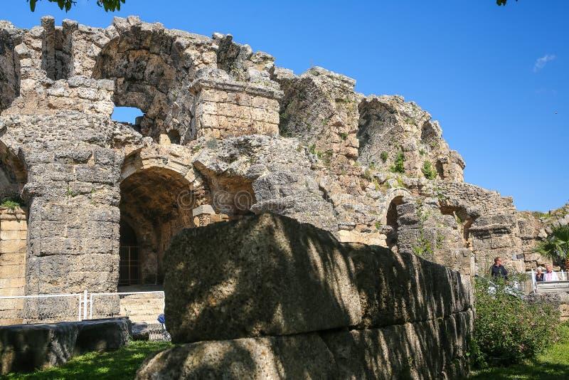 Ruines de côté en Turquie image stock