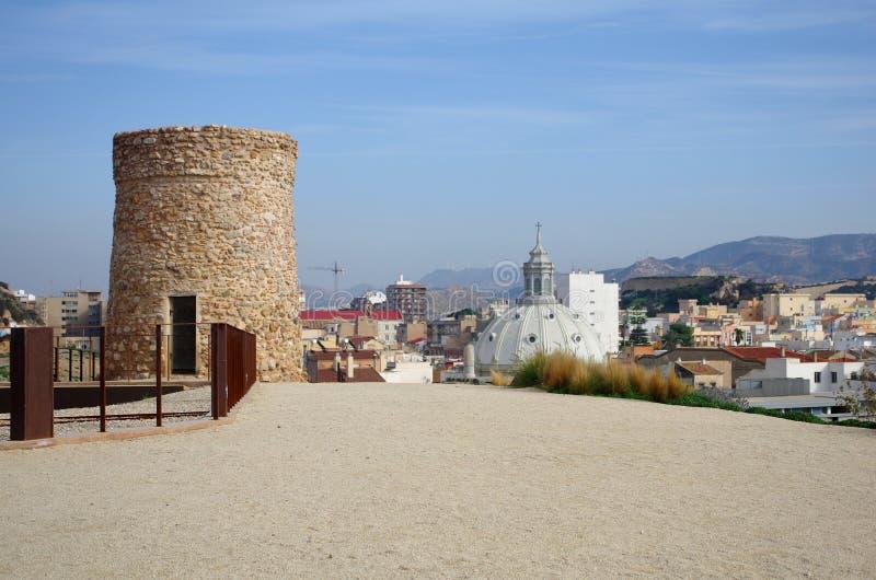 Ruines de Carthagène image stock