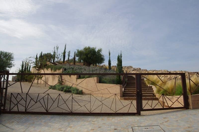 Ruines de Carthagène photo stock