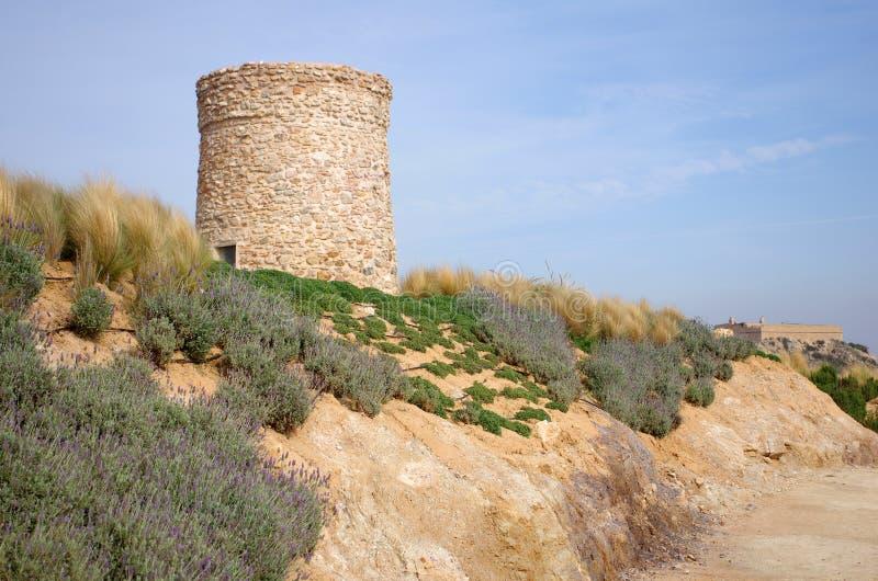 Ruines de Carthagène images libres de droits